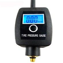 100PM цифровой датчик давления воздуха в велосипедных шинах, мини-измеритель давления в велосипедных шинах, измерение для клапана Presta/клапана Schrader