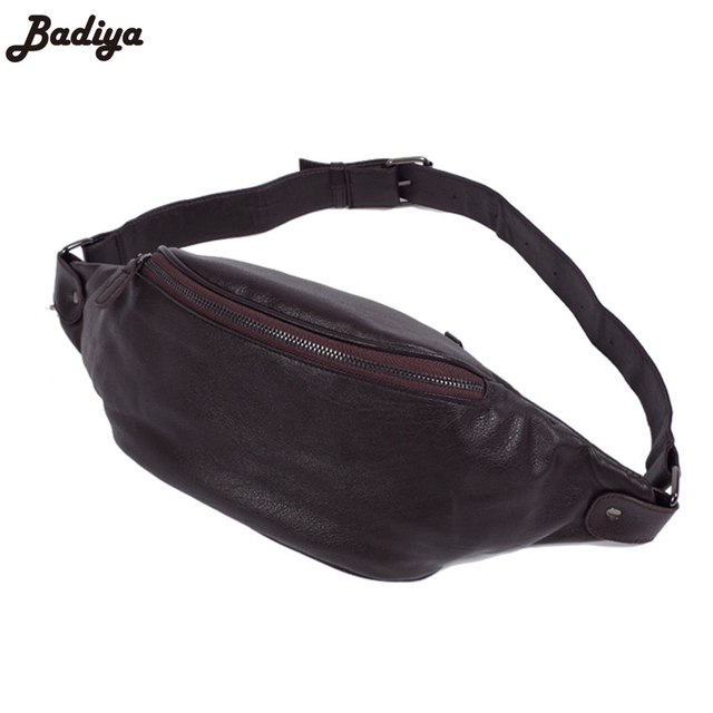 Solid Brand Phone Large Capacity Crossbody Bags Fashion Men PU Leather  Waist Packs Travel Bumbag Male b0565b184c