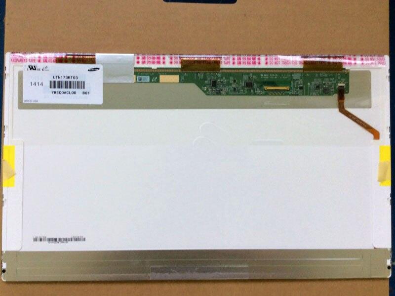 LTN173KT03-H01 LTN173KT03 H01 LED Screen Matrix for Laptop 17.3 HD+ 1600X900 LCD Display Replacement 13 3 for sony vpc sa sb sc sd vpc sa25 vpc sa27 claa133ua01 1600 900 laptop screen lcd led display screen 1600 x 900 40 pins
