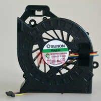 Nouveau refroidisseur d'ordinateur portable ventilateur cpu Pour HP Pavilion DV6 DV6-6000 DV6-6050 DV6-6090 DV6-6100 DV7 DV7-6000 AD6505HX-EEB MF60120V1-C181-S9A