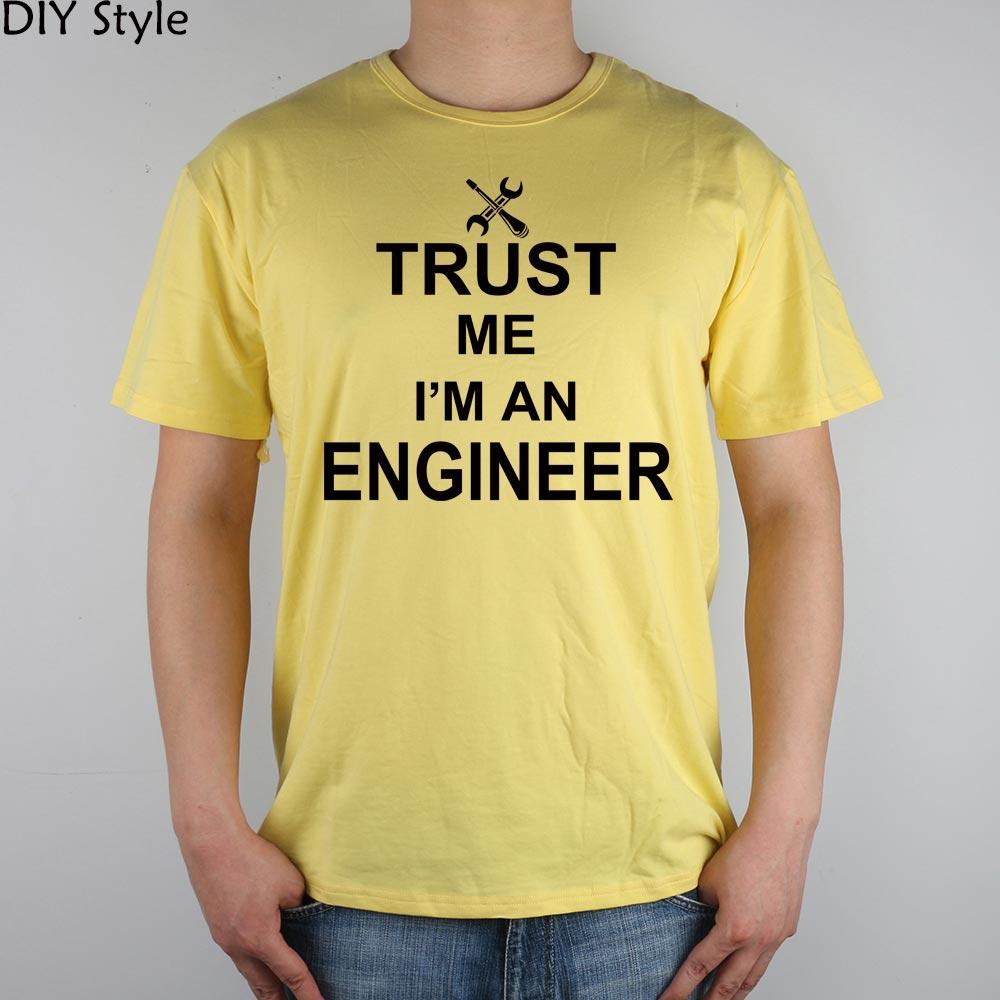 TRUST ME OI AM A INGINEER Camiseta Top Lycra Cotton Men camiseta - Ropa de hombre - foto 6