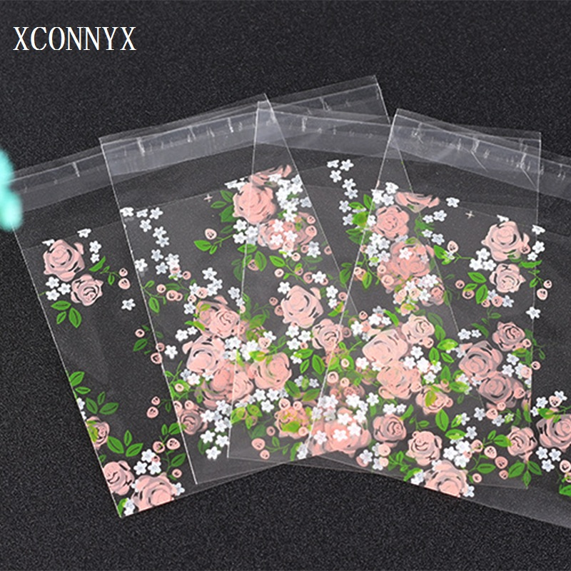 10Pcs 25Pcs 50Pcs 100Pcs Rose Flowers Candy Cookie Bags Wedding Party Gift Bag Self Adhesive Plastic Jelly Biscuit Packaging Bag10Pcs 25Pcs 50Pcs 100Pcs Rose Flowers Candy Cookie Bags Wedding Party Gift Bag Self Adhesive Plastic Jelly Biscuit Packaging Bag
