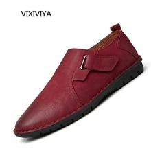 2018 جديد أزياء الرجال جلد طبيعي عارضة الأحذية المتسكعون رجل الشباب القيادة تنفس منصة الأحذية السوداء والحمراء للرجال
