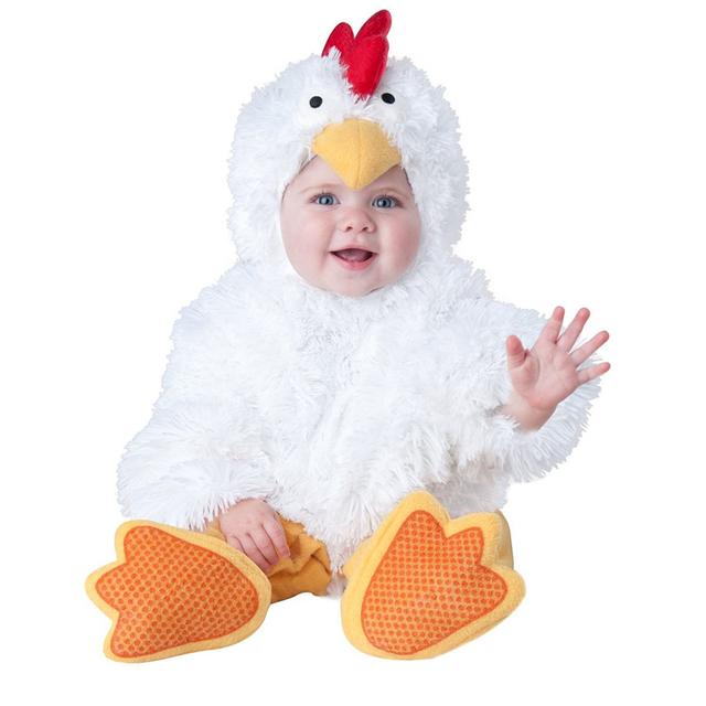 Carnaval de Halloween de Los Bebés Niñas Traje Unisex chicas Blancas Animal Cosplay Karneval ropa Del Bebé fijada Mamelucos del vestido infantil