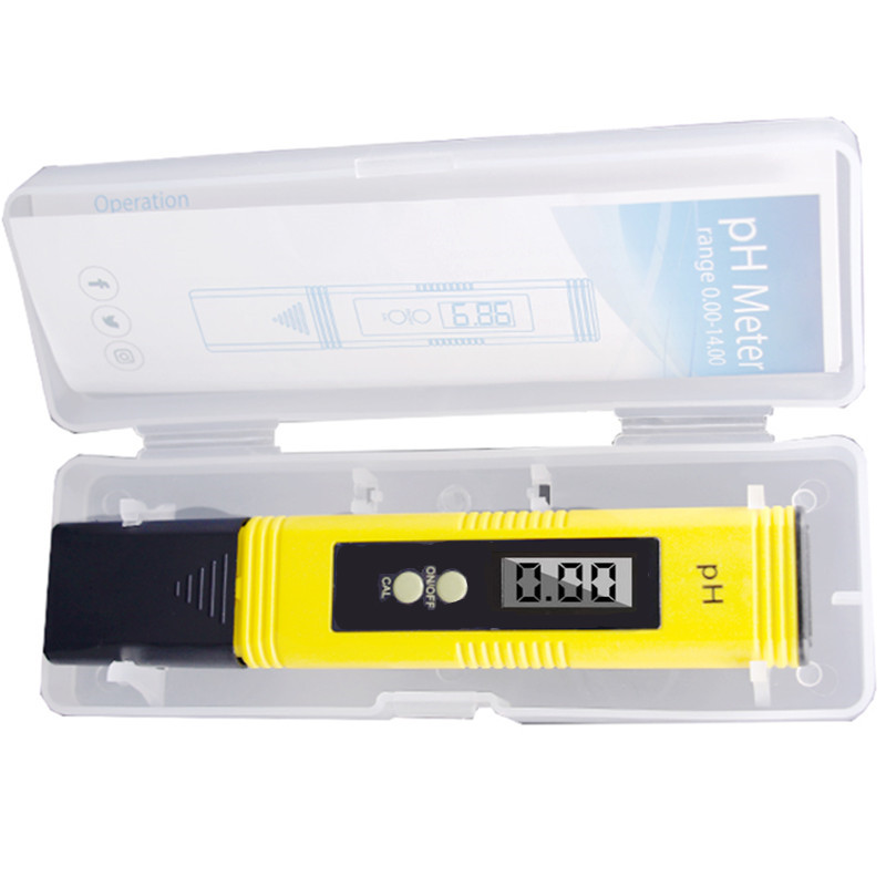Digital PH Meter Tester Water Wine Urine Monitor accuracy 0.01 automatic calibration with retail box 41%off 10pcs lot ph meter accurate digital ph meter pen automatic calibration aquarium ph pen tester accuracy 0 01 with retail box 18