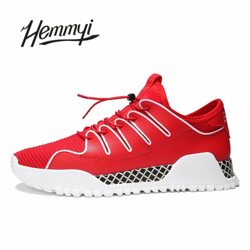 Respirável vermelho Moda Marca Vermelho Sneakers wearing Vogue Branco Homme Chaussure Adulto Homens Masculino Hard Tenis branco Preto Sapatos Preto BqH5wA