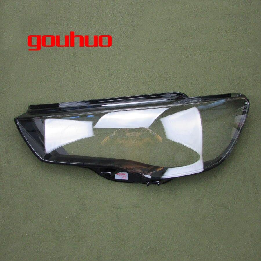 1шт крышка фары фары оболочка headhights стеклянный абажур фары объектив для Ауди А3 13-16