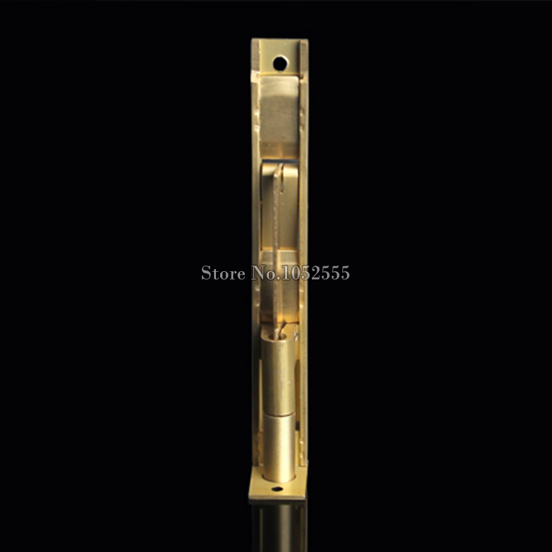 High Quality 2PCS Luxury Brass Security Door Bolts Lever Action Flush Slide Door Latch Bolts 6Inch 8Inch 10Inch 12Inch in Door Bolts from Home Improvement