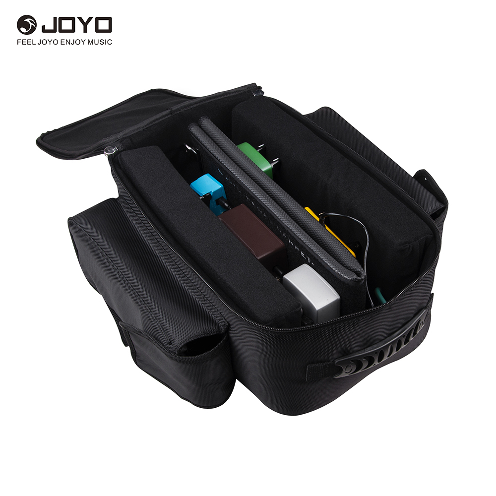 JOYO PC 1 Portable Soft Guitar Effect Pedal Board Carpet Pedalboard with Backpack Carrying Bag