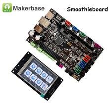 3D-принтеры Запчасти 32-битных платформ Управление плата MKS SBASE V1.3 с открытым исходным кодом Smoothieboard с МКС TFT32 V4.0 Смарт Сенсорный экран