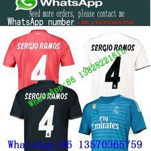 eb7b9e7c4 New 2018 2019 Real madrid soccer SHIRT home away 18 19 CR7 RONALDO MODRIC ISCO  RAMOS Asensio Kroos football Shirt Champions Lea