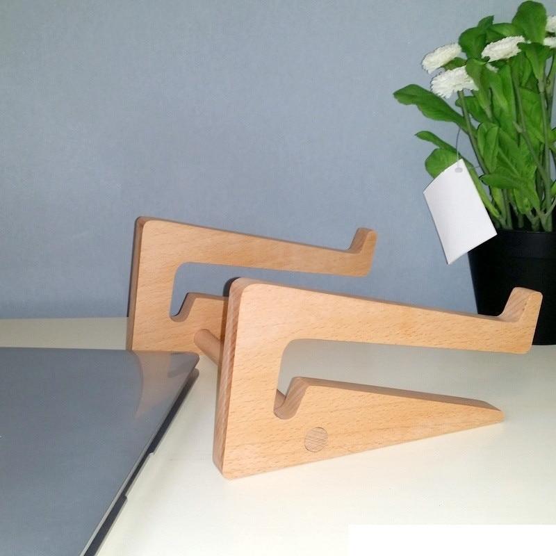 Nieuwste elegante houten standaard voor MacBook Air / Pro thinkpad - Notebook accessoires - Foto 4