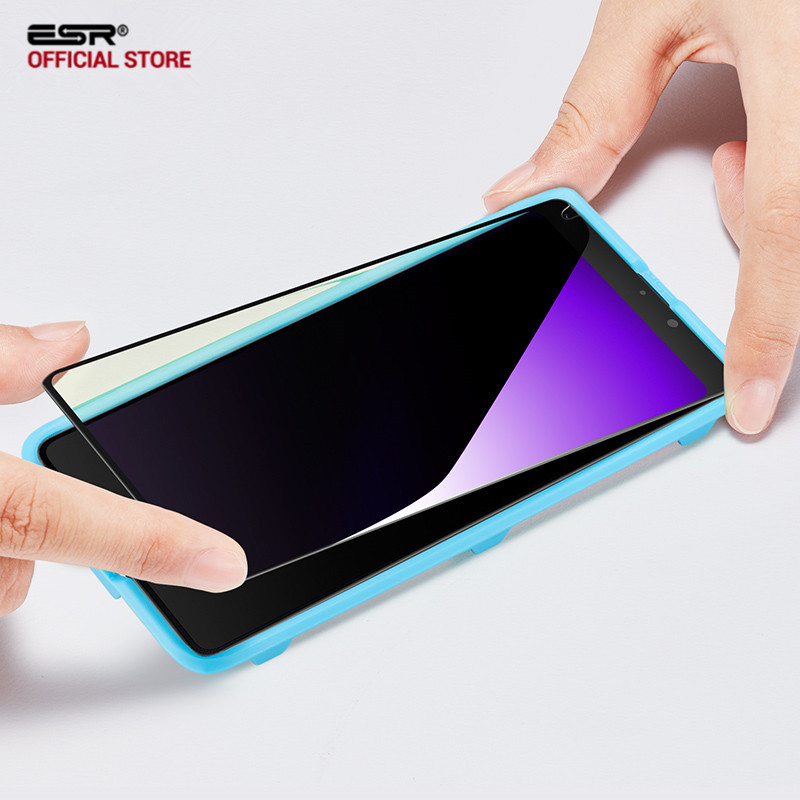 ESR Für xiaomi mi mi X 2 2 S Gehärtetem Glas 3D 9 H Anti Blu-ray Full Abdeckung Telefon Screen Protector glas xiaomi mi mi x2s mi x 2 s