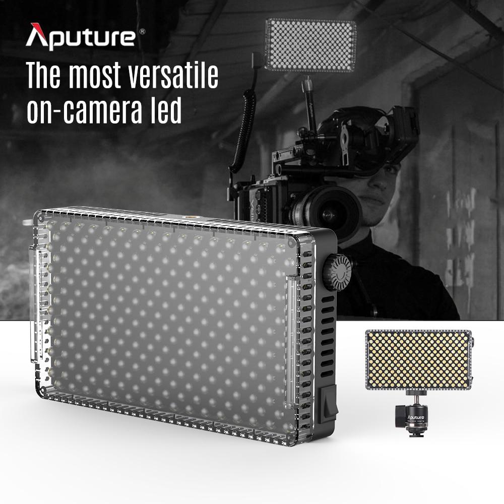 แบบพกพา LED Video Light โคมไฟ Aputure AL F7 3200 K 9500 K อุณหภูมิสี CRI95 + 256pcs LED ลูกปัดปรับความสว่าง-ใน ไฟถ่ายภาพ จาก อุปกรณ์อิเล็กทรอนิกส์ บน AliExpress - 11.11_สิบเอ็ด สิบเอ็ดวันคนโสด 1