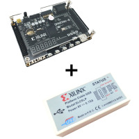 Xilinx spartan 6 FPGA development kit FPGA spartan 6 XC6SLX9 development board + Platform USB Download Cable XL014