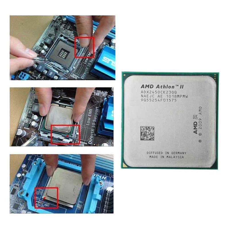 AMD Athlon II X2 245 CPU Processor (2.9Ghz/ 2M /2000GHz) Socket Am3 Am2+ Free Shipping 938 Pin, There Are, Sell X2 240 CPU