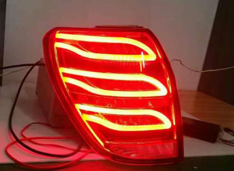 Car Styling Tail Lamp for Chevrolets Spark Tail Lights 2010 2011 2012-2017 LED Tail Light Rear Lamp DRL+Brake+Park+Signal free shipping 2pc lot car styling led lights hi q stop lamp tail lamp for ford fusion ecosport