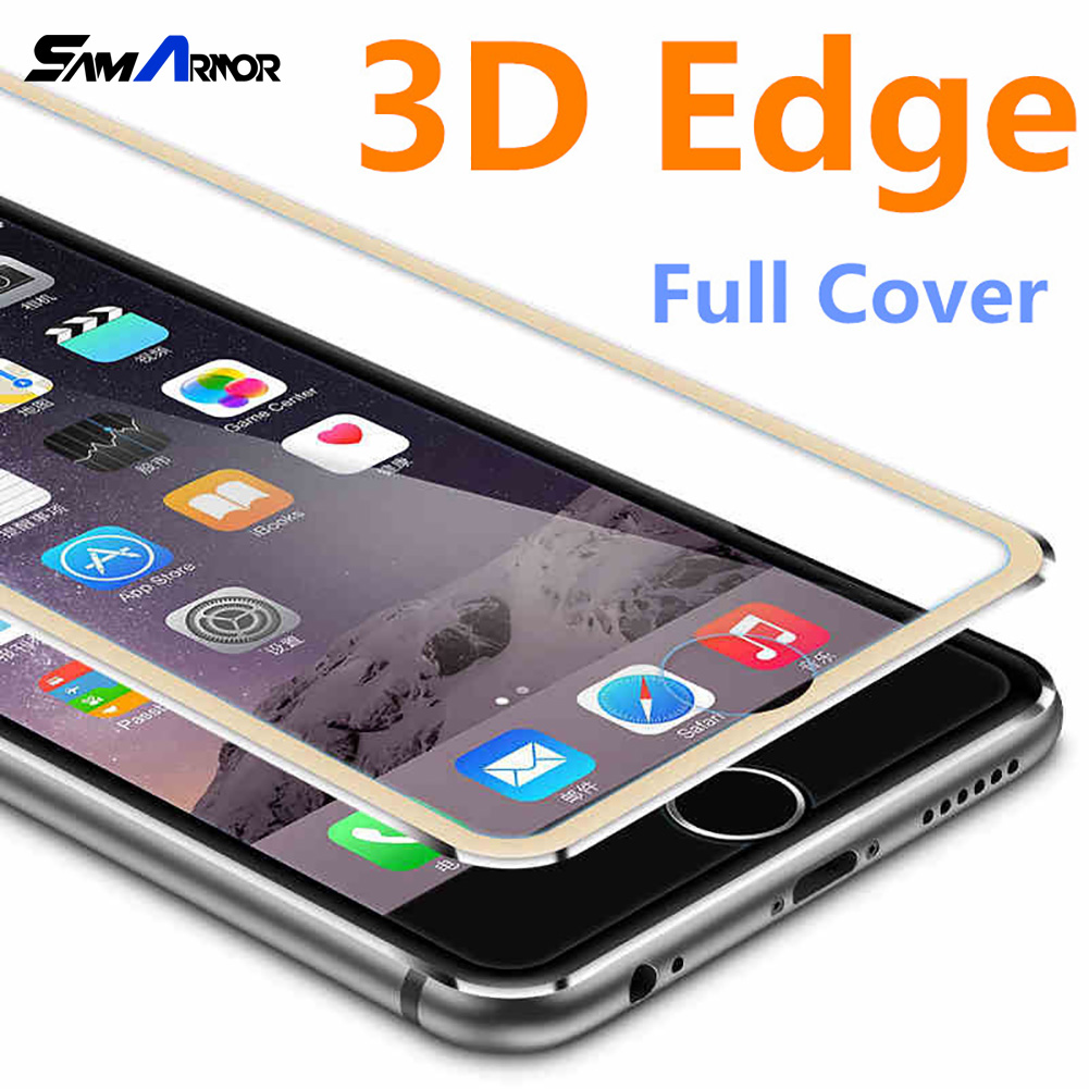 3d aluminum alloy tempered glass case coque for iphone 8 6 6s 7 plus x full film fundas for. Black Bedroom Furniture Sets. Home Design Ideas