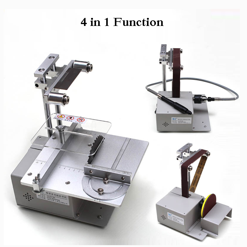 Tools : Table Saw Micro Chainsaw Multi-function Mini Cutting Machine DIY Woodworking Saws Precision Desktop Cutter Carpentry Saw
