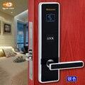 Alta calidad inteligente de hotel cerradura de la puerta con el software libre