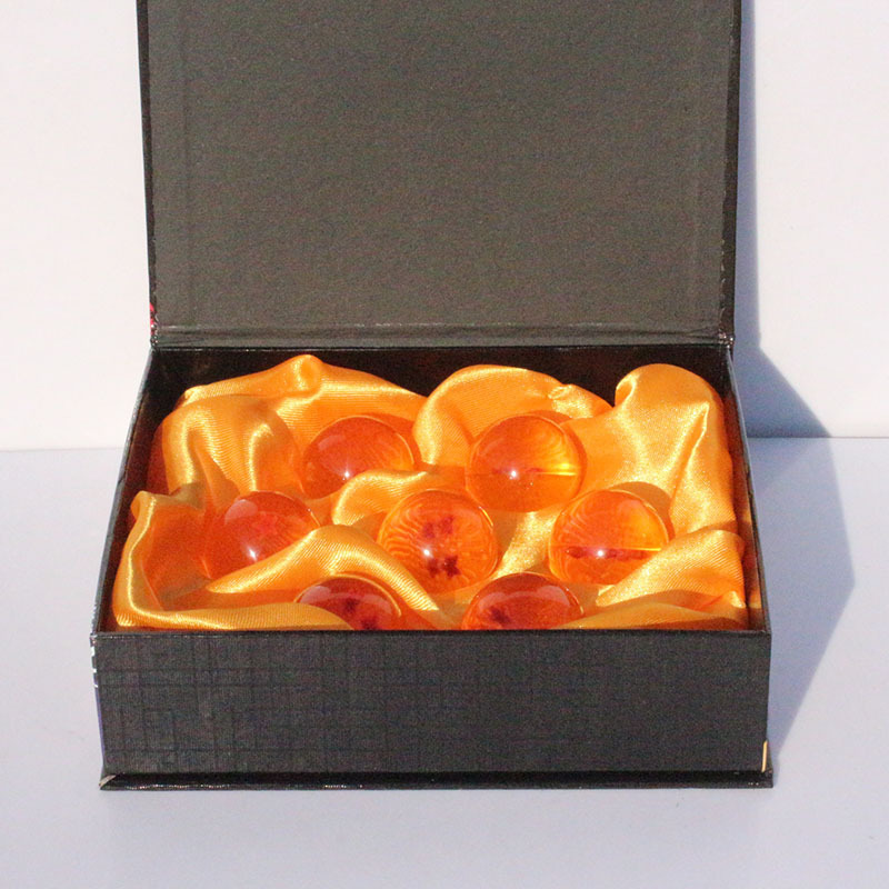 DragonBall 7 Stars Crystal Ball Set of 7 pcs Dragon Ball Z Balls Complete Set New in Box 4.5CM Free Shipping