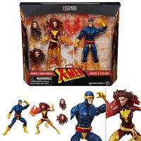 6 ''action фигурка Марвел легенды X MEN Феникс и Циклоп подарок на день рождения Бесплатная доставка