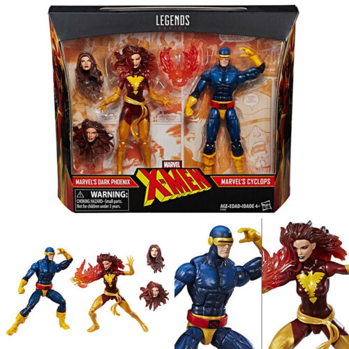 6 action  figure Marvel Legends X-MEN phoenix and Cyclops birthday present free shipping6 action  figure Marvel Legends X-MEN phoenix and Cyclops birthday present free shipping