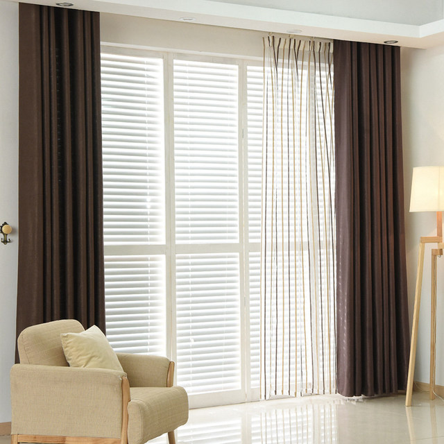 Curtains Ideas curtains for kitchen door window : Aliexpress.com : Buy Plain dyed blackout curtain kitchen door ...