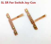 Original Right SR Left SL Switch Button with LED Flex Cable for NS Nintend Switch Joy-con Nintendo Switch Controller Ribbon Cabl стоимость