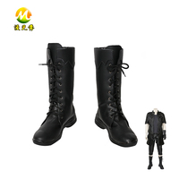 Final Fantasy XV Noctis Lucis Caelum Boots Halloween Black Shoes Carnival Accessories For Adult High Quality