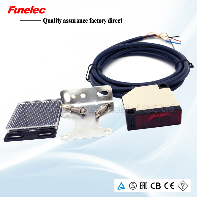 2M Feedback Reflective Photoelectric Switch E3JK-DS30M1 Infrared Induction Sensor 12-24V220 General