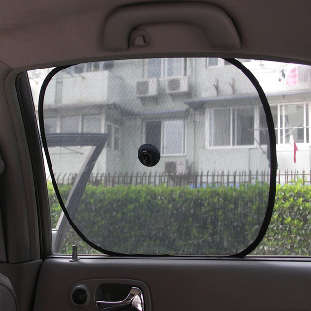 2Pcs Lot Car Window Sun Shade Car Windshield Visor Cover Block Window  Sunshade Protect Car 2fbf24a88ef