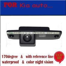 Para sony ccd cámara Del Coche para KIA Carens/Borrego/Oprius/Sorento/Sportage R/KIA CEED Opinión Posterior del coche de Cámara de Reversa de asistencia para estacionarse