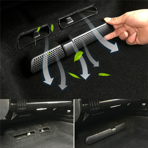New 2PCS/Set Car Air Outlet Cover For Skoda Kodiaq 2016 2017 2019 Back Seat Under Car Rear Seat Air Conditioning Vent Cover Net