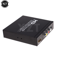 High Quality 1080P Scart HDMI To HDMI Video Audio Upscale Converter Scart To HDMI Composite