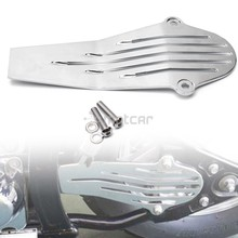 цена на Motorcycle Chrome Aluminum Drive Shaft Cover Protector for Yamaha V-Star 650 1998-2015 1100 1999-2009 Customs Classic 1pcs