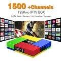 Octa Ядро Android Арабских IPTV ПОЛЕ T95Kpro Бесплатная 1500 Европа Арабский IPTV Каналов S912 2 ГБ/16 ГБ TV Box КОДИ WIFI H265 Media Player