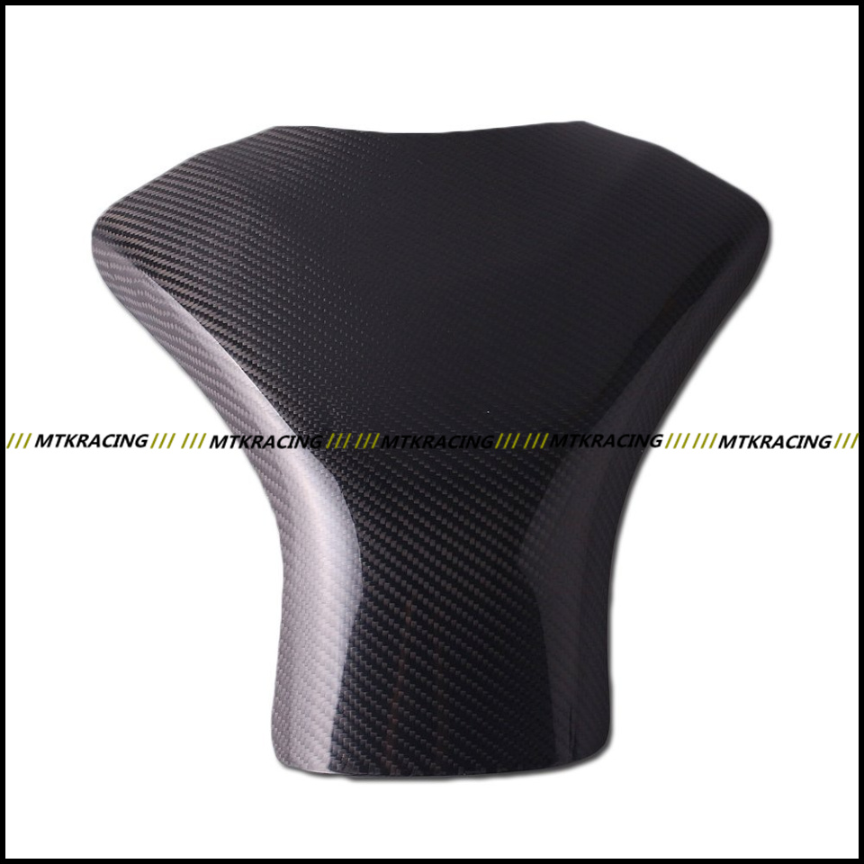 Free shipping Carbon Fiber Fuel Gas Tank Protector Pad Shield For SUZUKI GSXR600 2006-2007 2006 2007 black color motorcycle accessories carbon fiber fuel gas tank protector pad shield rear carbon fiber for kawasaki z1000 03 06