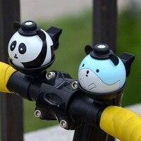 Taiwan N 1 Bicycle Bell MTB Mountain Bike Bells Kids Bicycle Panda Carton Bell Aluminum Folding
