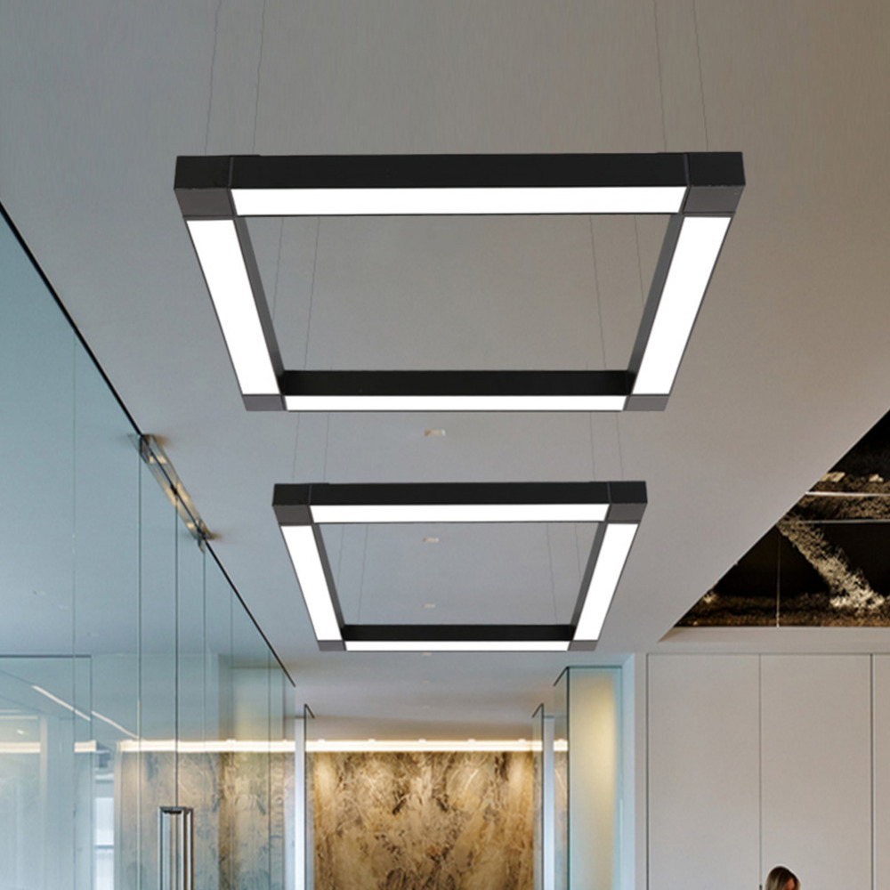 Led Modern Ceiling Light Lamp Dimmable Surface Mount Flush
