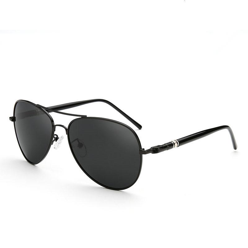 Aviation Metail Frame Quality Oversized Spring Leg Alloy Men Sunglasses Polarized Brand Design Pilot Male Sun Glasses Driving 4