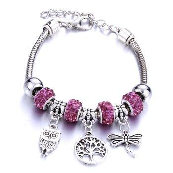 Bracelet Arbre De Vie Argent Femme