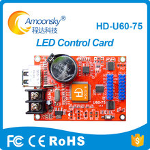 Engenharia Usado Hd-U60-75 Cartão De Controle De Led Para Sinal Conduzido Ao Ar Livre