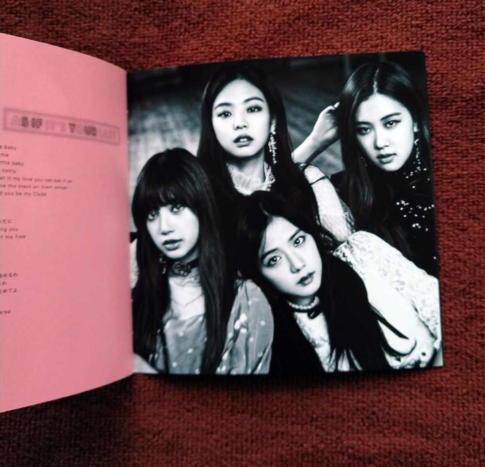signed BLACKPINK autographed album RE:BLACKPINK Japanese
