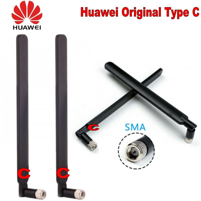 Original Black For Huawei Type C 4G LTE For B593 B890 B525 B3000 External Antenna
