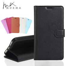 MUXMA Wallet Case For Doogee X30 Luxury PU Leather Cover Magnetic Flip Fundas Card Slots Mobile Phone Cases For Doogee X30 Shell(China)