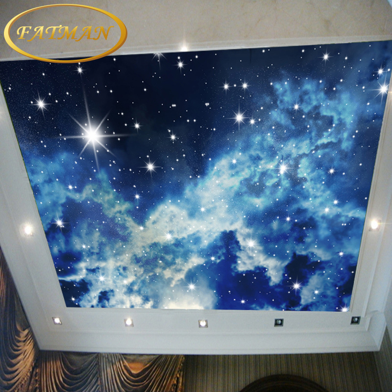 3d Wallpaper Mural Night Clouds Star Sky Wall Paper: Custom Photo Wallpaper Stars Universe Wallpaper Mural