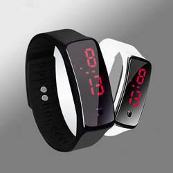 2019 спортивные часы силиконовый ремешок светодио дный светодиодный цифровой для женщин часы браслет мужской часы Relogio Feminino обувь для