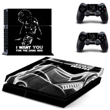 Film Star Wars PS4 Skin Sticker Decal Vinyl for Sony Playstation 4 Console and 2 Controllers PS4 Skin Sticker