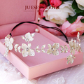 The bride hair accessory red hair bands flower marriage accessories wedding accessories